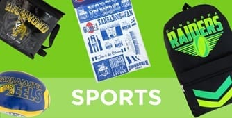 Sports showbags