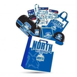 AFL North Melbourne bag
