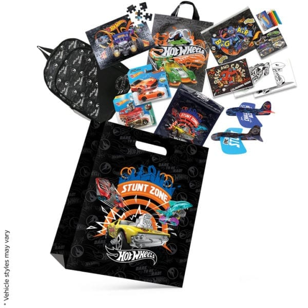 Hot Wheels Showbag Cars Toys Merchandise Product Stationery Bag